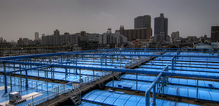 water treatment facility machiya